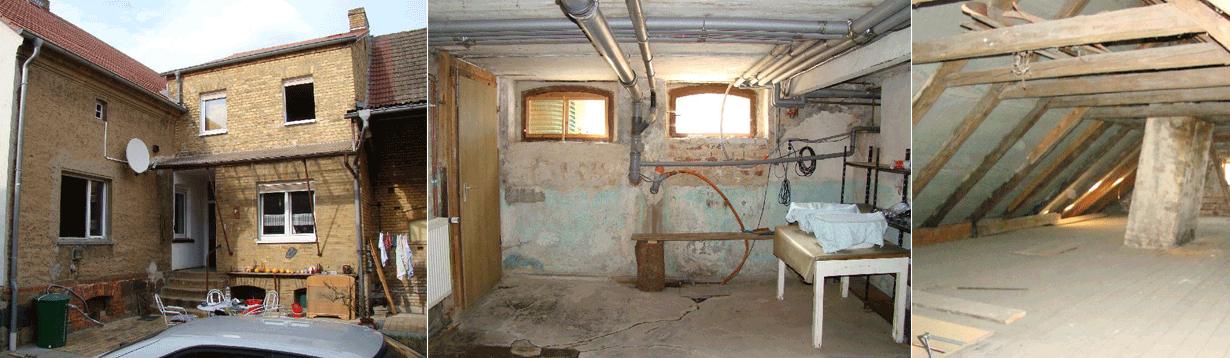 Umbau und Umnutzung eines Bauernhauses von etwa 1875 zum Wohnhaus mit Praxis