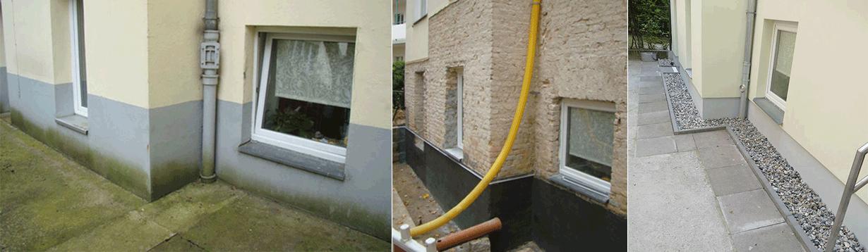 WEG-Anlage im einem Berliner Altbau, Begleiten bei Sanierung Feuchteschäden