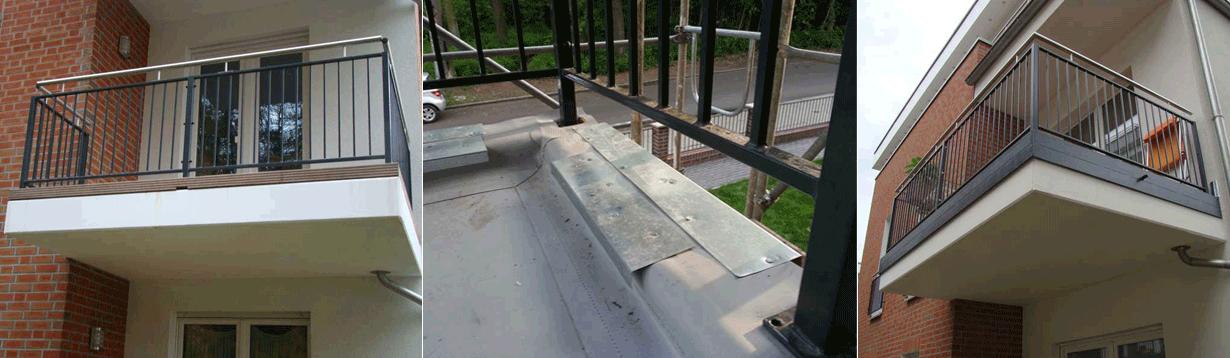 Gemeinschaftseigentum in einem Berliner Neubau, Betreuen bei der Abnahme