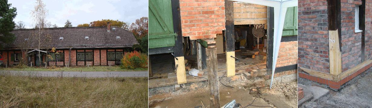 Begleiten der Sanierung eines denkmalgeschützten Fachwerkensembles zu einer Wohnanlage mit Ferienwohnungen